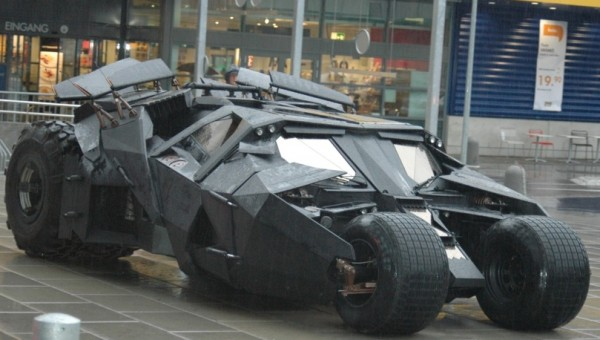 Batmobile - The Dark Night Coolest Armored Vehicles Ever