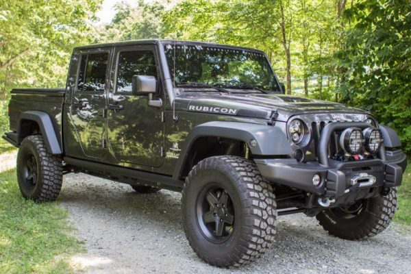 Armored Jeep rubicon truck by armormax