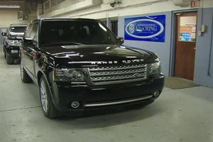 Bulletproof Range Rover
