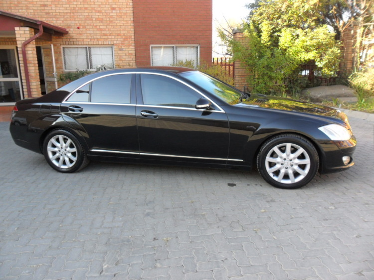 Armored Mercedes Benz S500 B6