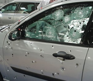 Attacked Sedan Armormax