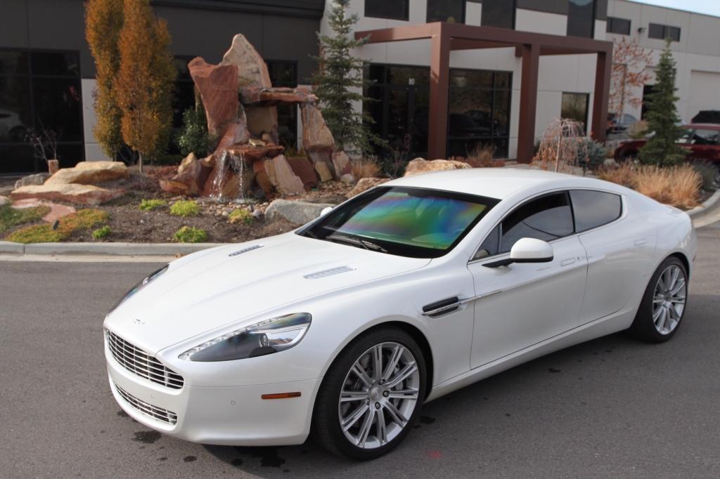 Armored Aston Martin