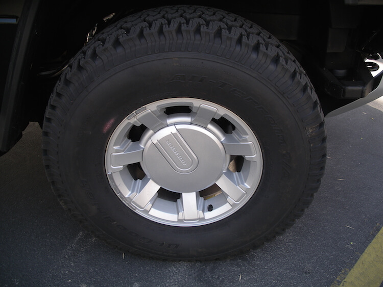 Armored Hummer H2 Tire Runflats from Rodgard Hutchinson