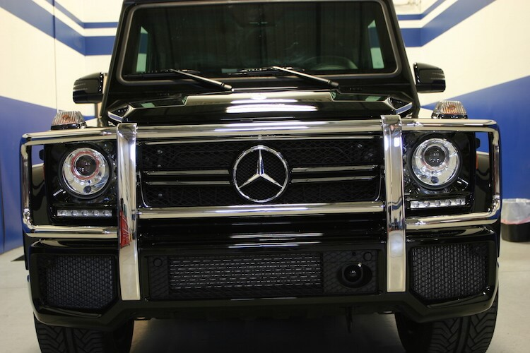IAC Armored Mercedes Benz G63 Bulletproof Front View