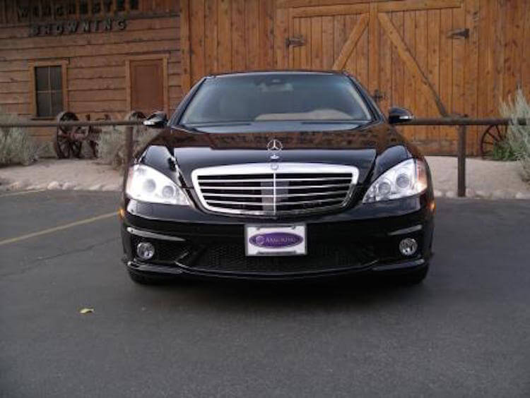 Armored Bulletproof Cars, Mercedes Benz S Class Sedan. JPG