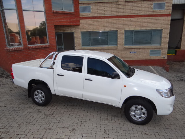 Armored Bulletproof Toyota Hilux SUV Lightweight Armor