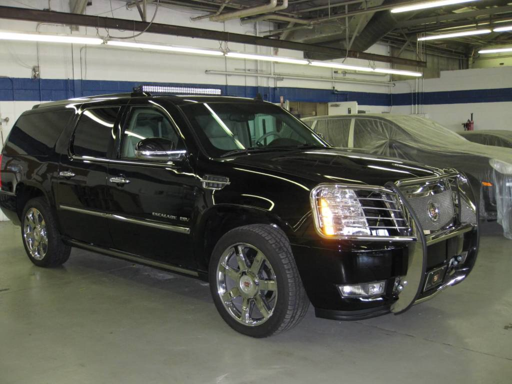 Armored Bullet proof Cadillac Escalade International Armoring and Armormax