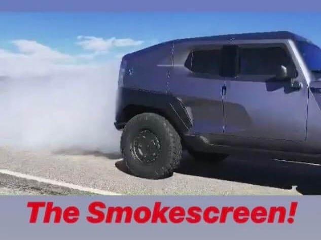 Armormax Smoke Screen Rezvani Tank