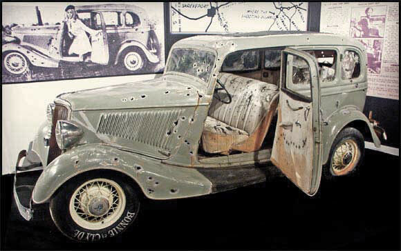 Armored Bonnie and Clyde Vehicle