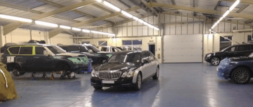 Armored Maybach in the UK