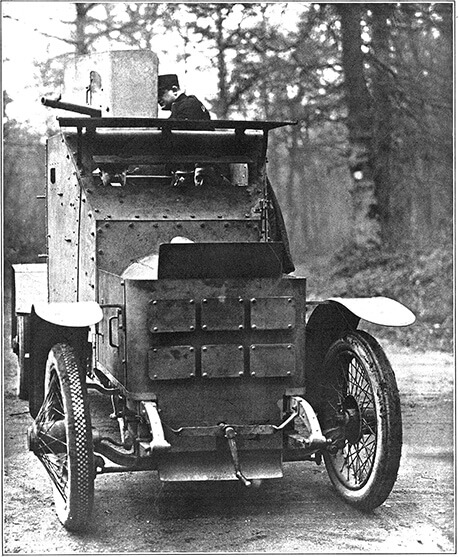 Armored Vehicle Tractors World War I