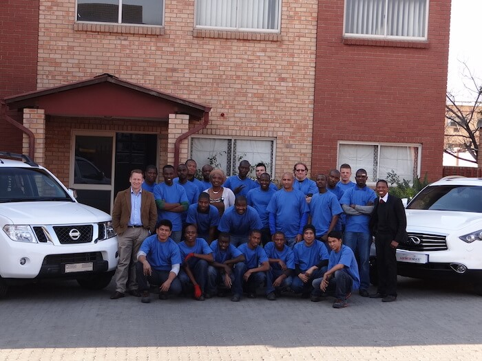 IAC Armormax South Africa Team Two Armored Vehicles