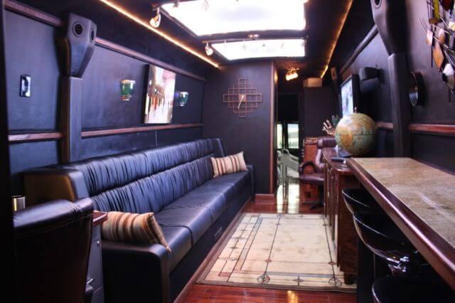 Bulletproof Bus Long Interior Option