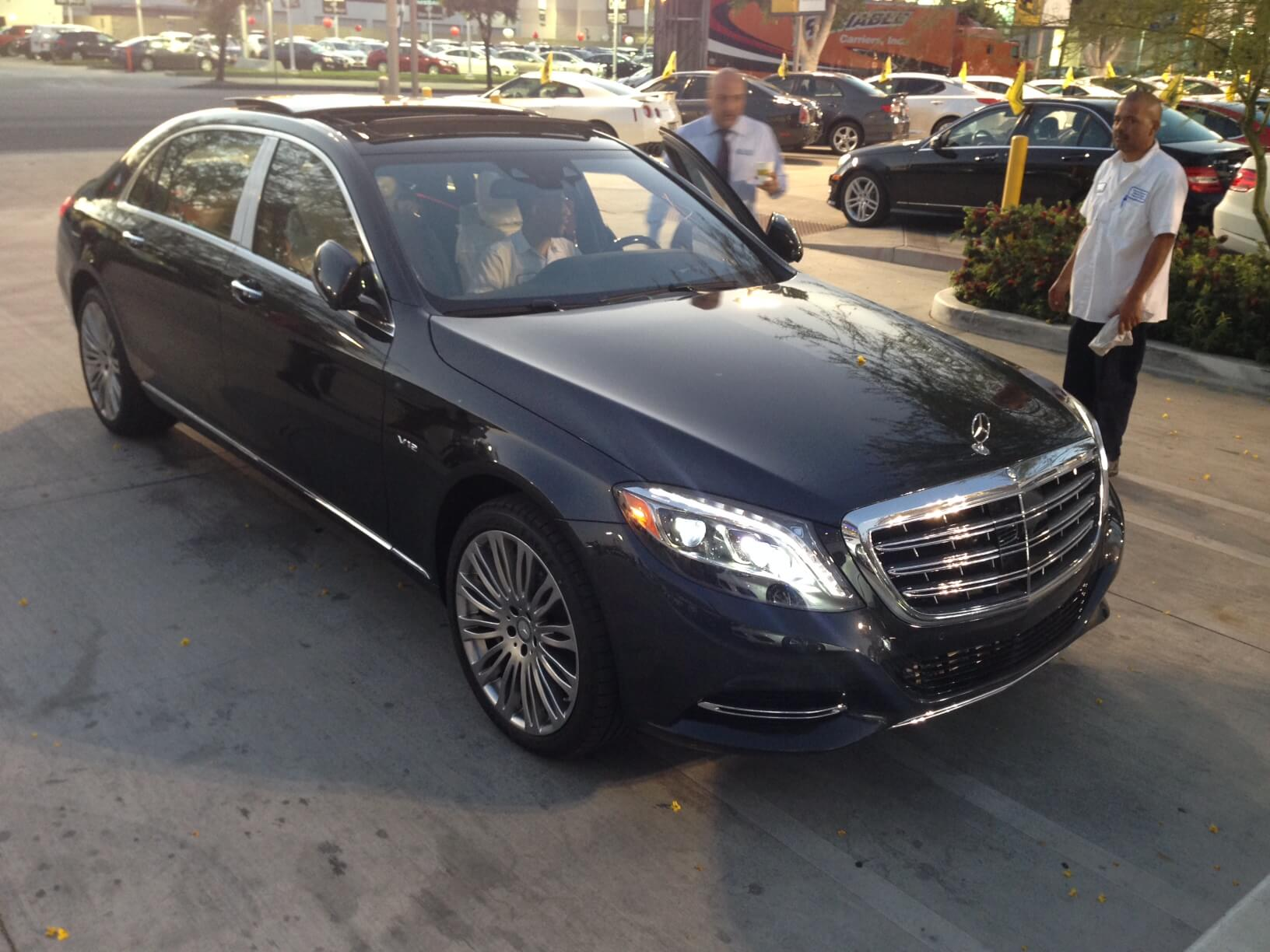 armored 2016 mercedes maybach now available - armormax