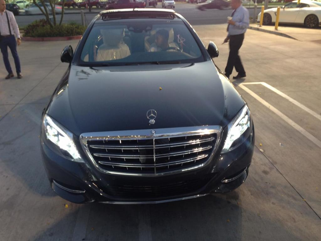 2016 Mercedes Maybach S600 Ready for Armoring