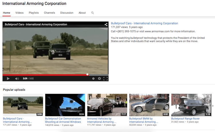 Follow Us on Youtube and Watch Armored Vehicle Videos