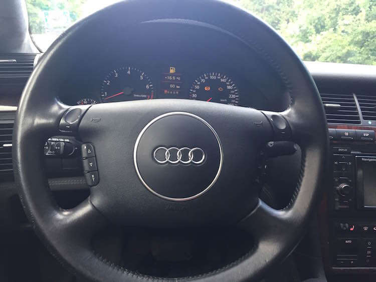 Armored Audi A8 Bulletproof Steering Wheel