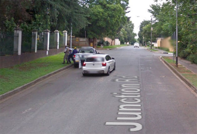 Armed Robbery in South Africa-joburg-Street-view-google-maps