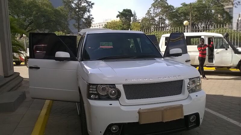 Armored Cars Range Rover in Nairobi Kenya Armored Cars EACT EXPO