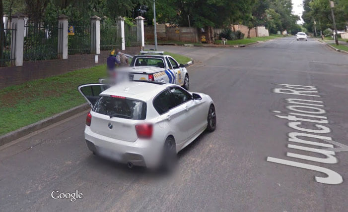 Google Street View Captures Armed Robbery in Joburg