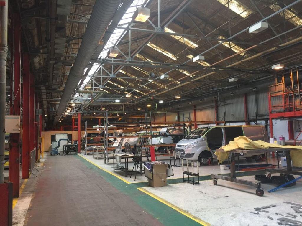 UK Armoring Facility Bulletproof Car Company