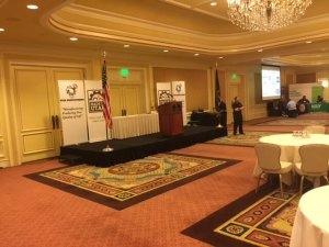 Utah Manufacturer Award Stage