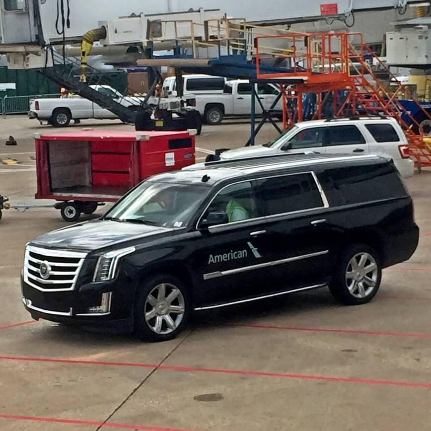 American Airlines Cadillac Escalade