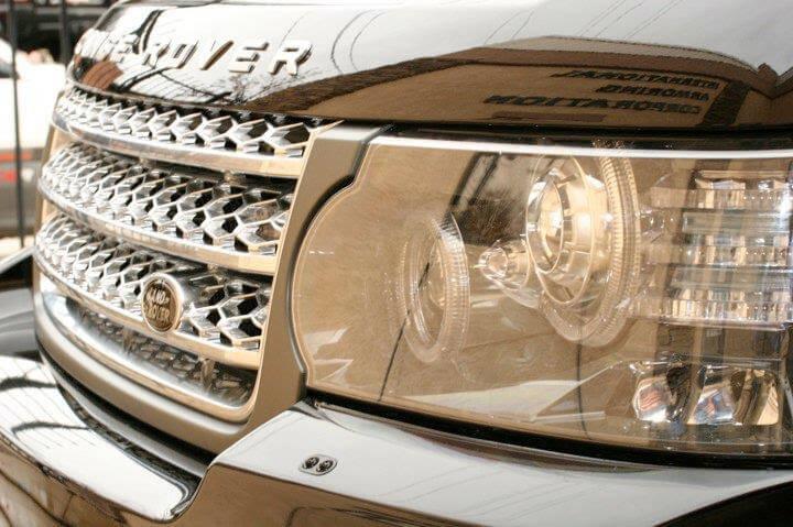 Armored Range Rover