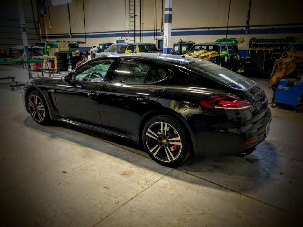 Armoring a Porsche Panamera