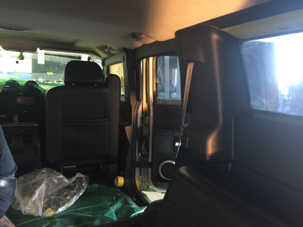 Finishing Armor Interior