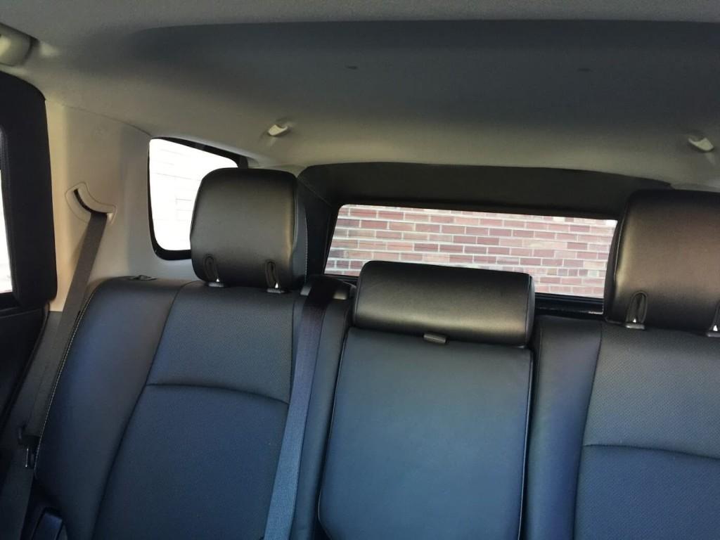 Inside a Bulletproof Toyota 4Runner