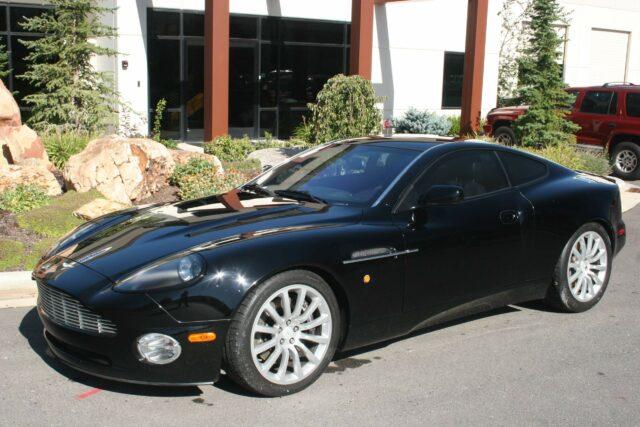 Bulletproof Aston Martin Vanquish