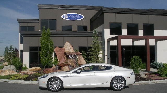 Armored Bulletproof Aston Martin Rapide with Armormax Headquarters Luxury Protection Sports Car