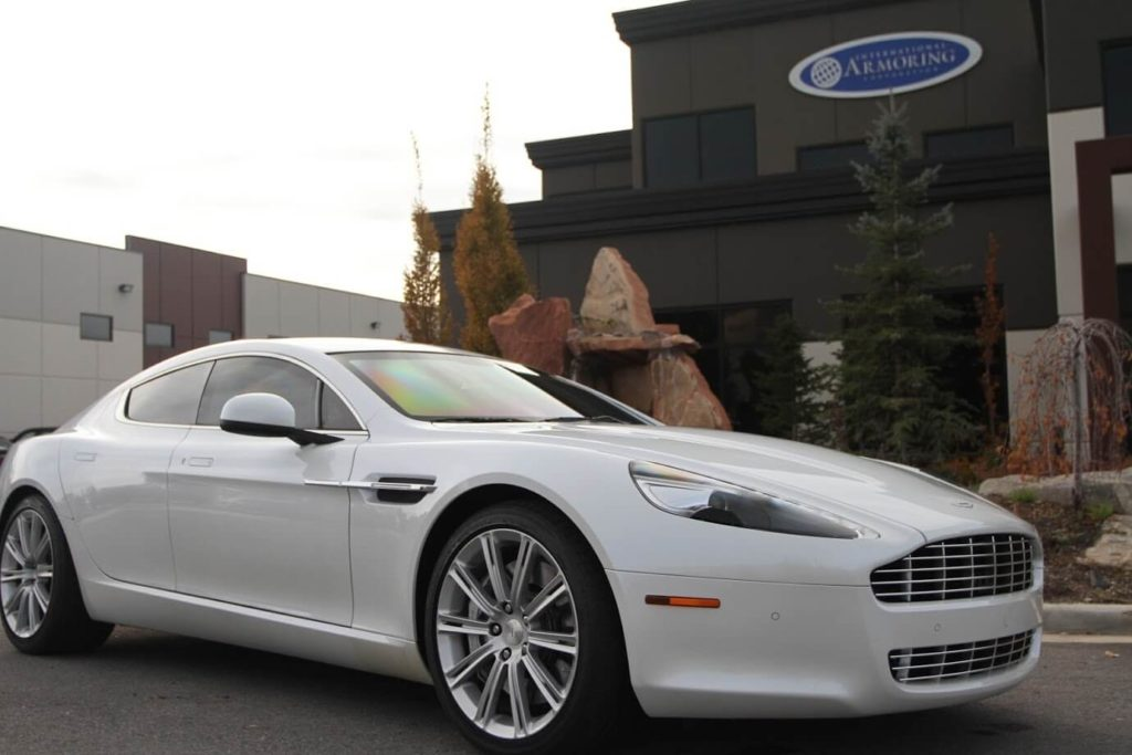 Armored Bulletproof Aston Martin Rapide with Armormax Side