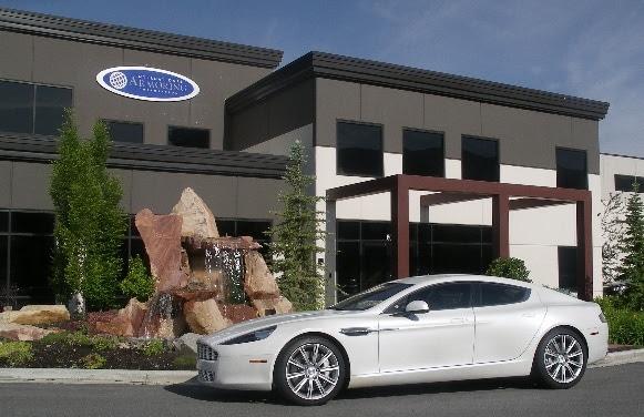 Bulletproof Aston Martin Rapide