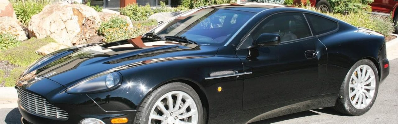 Armored Bulletproof Aston Martin with Armormax Luxury Protection Sports Car