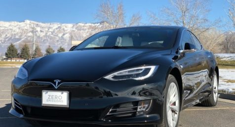Armormax Bulletproof Tesla Model S P100D 2018
