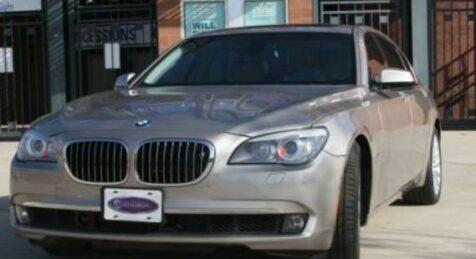 Bulletproof BMW 750 LI