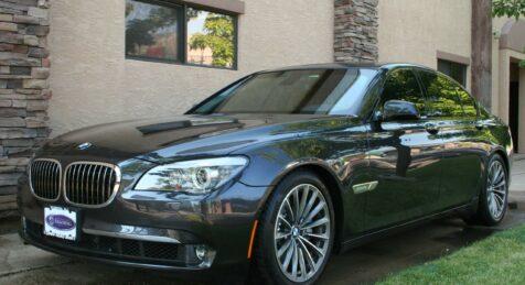 Bulletproof BMW 750i