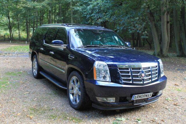 Bulletproof Cadillac Escalade ESV Conversion