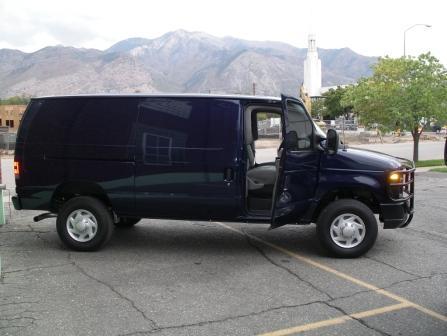 Bulletproof Ford CIT Van