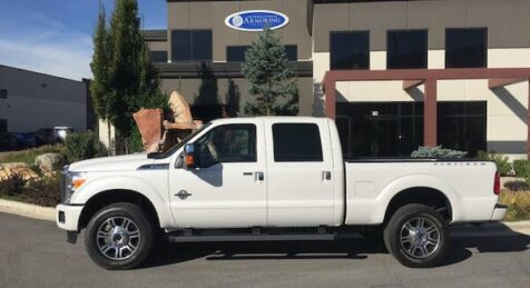 Bulletproof Ford F350 Platinum