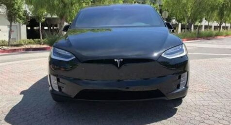 Front Bulletproof Armored Tesla Model S