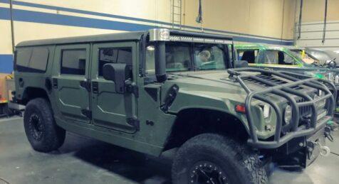 Bulletproof H1 Hummer camo