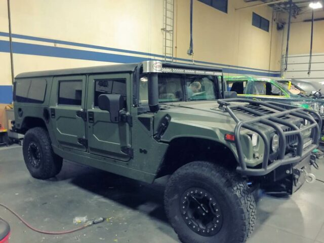 Bulletproof H1 Hummer