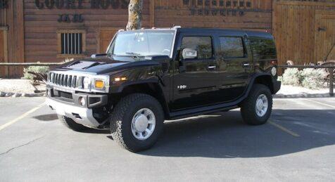 Bulletproof H2 Hummer black