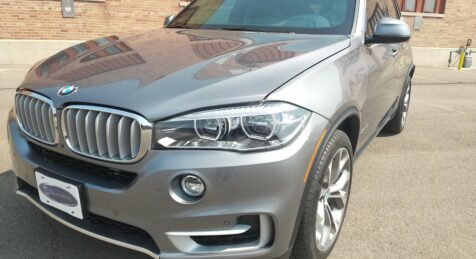 Bulletproof BMW X5 by Armormax International Armoring Corporation Front