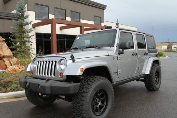 Bulletproof 2013 Jeep Wrangler Rubicon