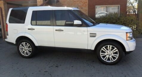Bulletproof Land Rover LR4