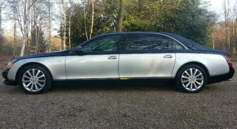 Bulletproof Maybach 62S side view